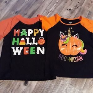 Other - Halloween kids tees